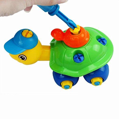 Leegor Christmas Gift Disassembly Turtle Car Design Educational Toys For Children Kids - John Deer Kids Tool Kit