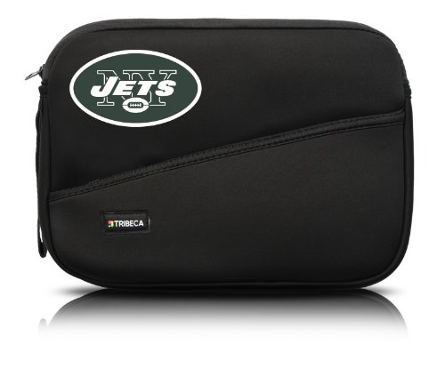 NFL New York Jets Neoprene Sleeve for 10-Inch Netbook or Tablet Computer ()