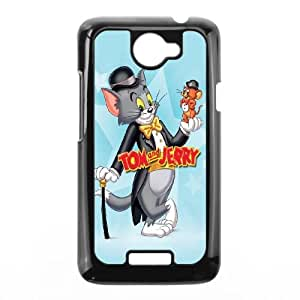 HTC One X Cell Phone Case Black Tom and Jerry 2 Nfwnt