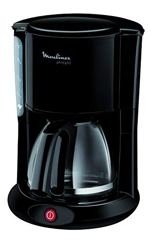 Moulinex FG260811 Cafetera de goteo, 1000 W, 1.25 L, color negro