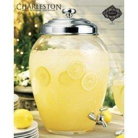 Charleston Glass Beverage Dispenser 2.5 Gallon - In Outlet Charleston
