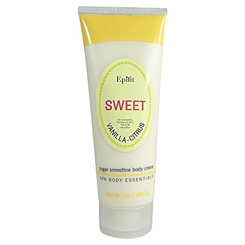 Moisturizing Body Smoothie (Epifit Sweet Vanilla Citrus Sugar Smoothie Body Creme 7 oz)
