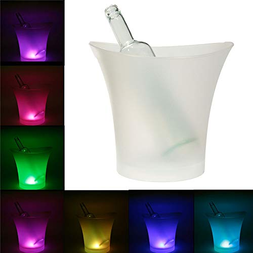 | Others | 7 Colors LED RGB Light Changeable Ice Bucket Champagne Wine Drinks Ice Cooler Beverage Beer Ice Buckets Bar Party Tools | by NAHASU - Wholesale Champagne Buckets