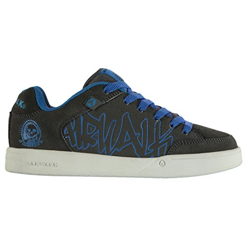 Skechers Ninos Chicas Keepsakes Junior Calentar Invierno Casual Zapatos Calzado Dark Grey/Blue