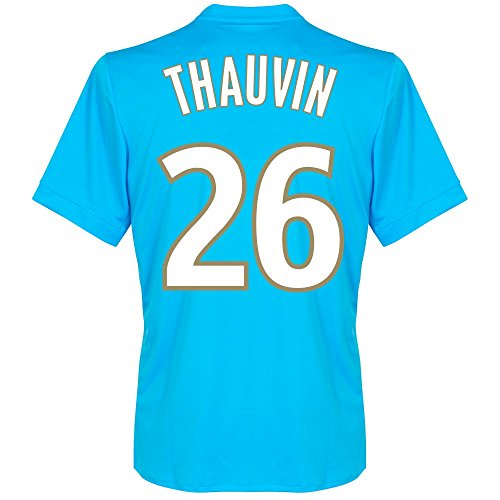 fan products of Olympique Marseille Away Thauvin Jersey 2017 / 2018 (Fan Style Printing) - XXL