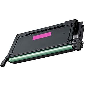 Inkfirst® Magenta Toner Cartridge CLP-600 M (CLP-M600A) Compatible Remanufactured for Samsung CLP600 Magenta CLP-600 CLP-600N CLP-650 CLP-650N