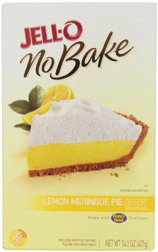 Jell-o No Bake Pie, Lemon Meringue, 14.1 Oz. [Pack of 3]