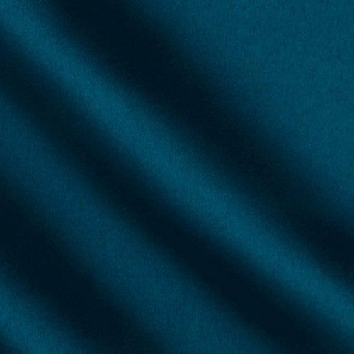 Ben Textiles Mi Amor Duchess Satin Dark Teal Fabric by The Yard,
