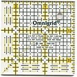 "Bulk Buy: Dritz Omnigrid Quilters Ruler 2 1/2""X2 1/2"" R25G (2-Pack)"
