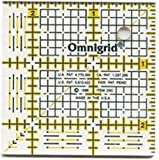 Bulk Buy: Dritz Omnigrid Quilters Ruler 2 1/2'' X2 1/2'' R25G (2-Pack)