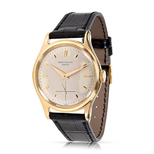 Patek Philippe Calatrava Mechanical-Hand-Wind Male Watch 2509 (Certified - Mechanical Calatrava Watch Patek Philippe