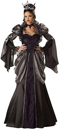 Incharacter Costumes Evil Queen (Wicked Queen Adult Costume - Medium)