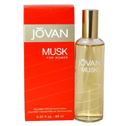 Jovan Cologne Concentrate Spray (Jovan Musk Women Cologne Concentrate Spray by Jovan, 3.25 Ounce)