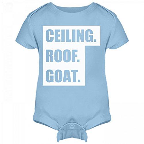 Ceiling Roof (FUNNYSHIRTS.ORG Ceiling Roof Goat Baby Bodysuit: Infant Rabbit Skins Lap Shoulder Creeper)