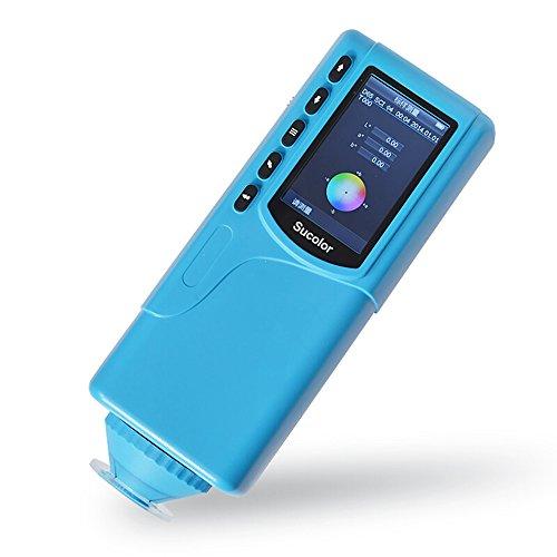 Huanyu SC-10 Portable Digital Colorimeter Color Meter Color Testing Equipment Color Measuring Device Color Analyzer