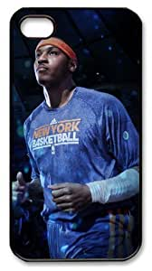 icasepersonalized Personalized Protective Case for iPhone 4/4S - Carmelo Anthony, NBA New York Knicks