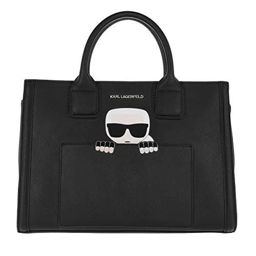 Karl Lagerfeld K/Ikonik Klassik Tote Black - Tote - nero - metallo - Donna - taglia unica