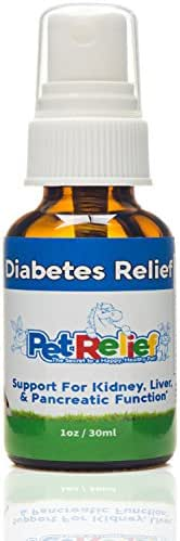 Pet Relief Diabetes In Dogs, Diabetic Supplies For Dogs With Diabetes, Natural Relief,! 30ml Pet Diabetes Support Product, Proven Relief With No Side Effects! Made In USA