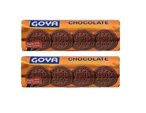 GOYA Maria Chocolate Cookies 200 grs. / 7 oz. - 2 PACK.
