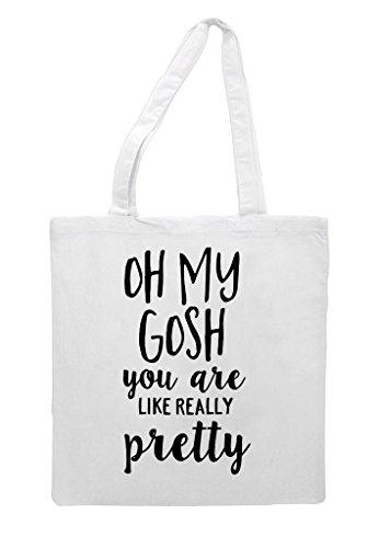 You Tote Are My Gosh White Pretty Really Oh Like Shopper Bag Statement wqTEx