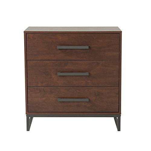 Homestar Venice Chest with 3 drawers in reclaimed cherry finish