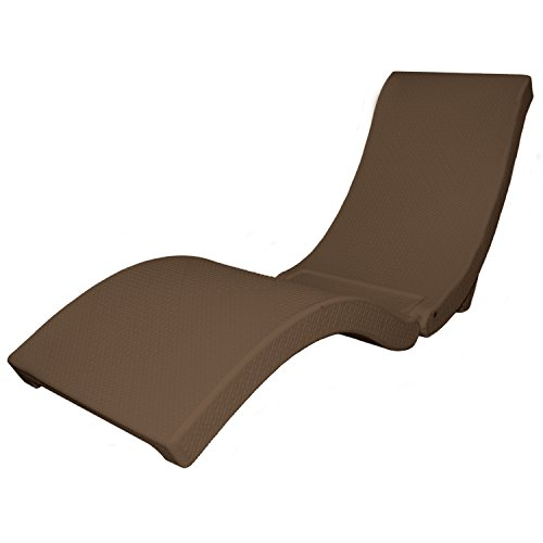 SwimWays 13400 Terra Sol Sonoma Chaise Chocolate Pool Lounge, Brown