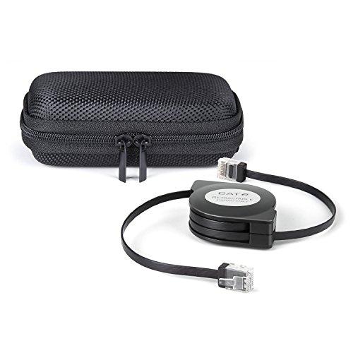TBMax Cat-6 10 Gigabit Ethernet Retractable Cable for Modem