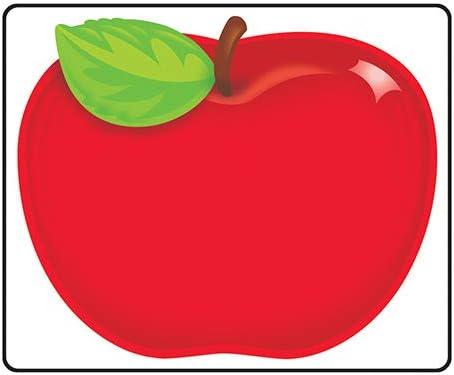 TREND enterprises, Inc. Shiny Red Apple Terrific Labels, 36 ct