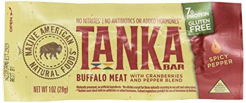 Tanka, Tanka Bar, Spicy Pepper Blend, 12 Bars, 1 oz (28 g) Each