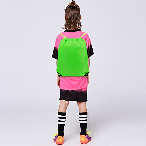Drawstring Bags Bulk for Kids Boys Girls Party Favors Bags Gym Drawstring Backpacks Cinch Bags 10 Pack by BeeTravel (Image #4)