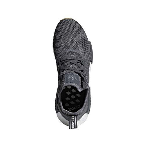 r1 Originals black 4 Men's Grey Adidas Shoe Casual Nmd 5 w4gEF