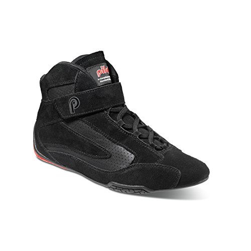 (piloti 00110BLACK-RED9.5 Shoes)
