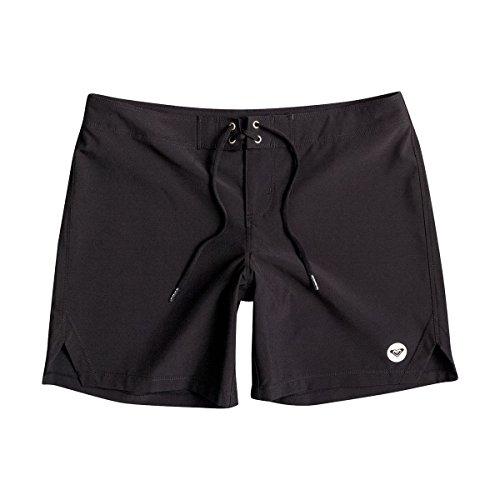 Roxy Junior's To Dye For 7 Boardshort, True Black, Medium