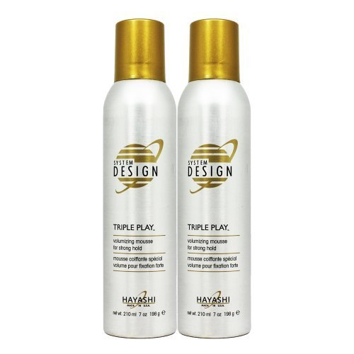 Hayashi System Design Triple Play Volumizing Mousse 7oz