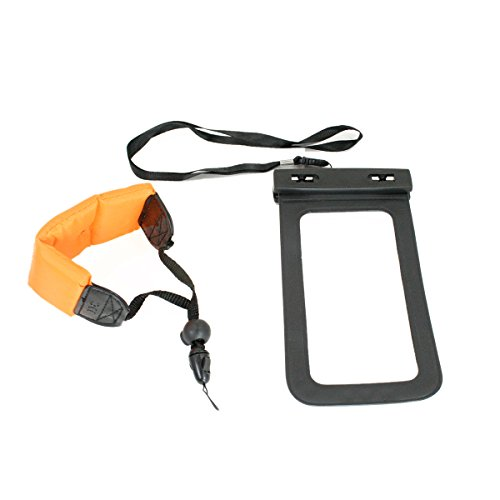 Livestream Gear¨   Waterproof Case Bag with Floating Wrist Strap, Operable with Any Phone. Universal Waterproof