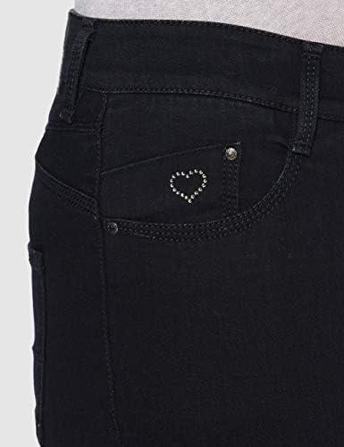 Atelier Gardeur Ciara Jeans, Bleu (Schwarz), W36/L29 Femme