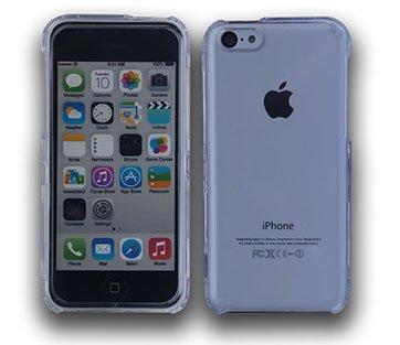 iphone 5C Full Clear Crystal Hartplastik Hülle Case cover Vorder-und Rückseite Cover Full Case