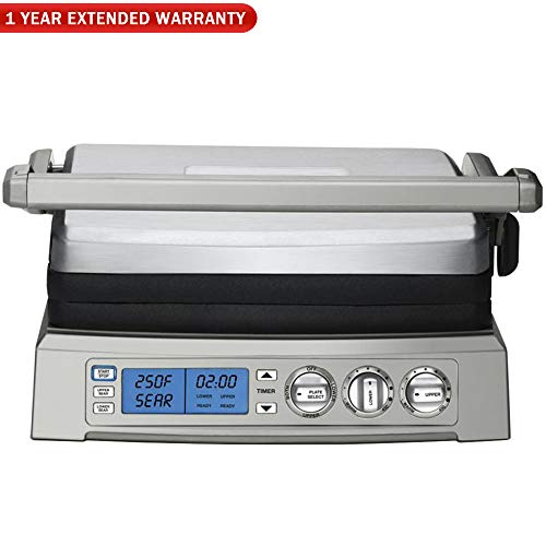 Cuisinart GR-300WS Griddler Elite Grill, Stainless for sale  Delivered anywhere in USA