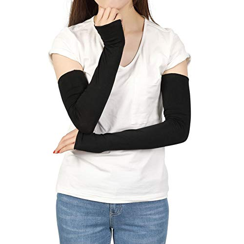 Sheeper Womens Arm Warmer Sleeves Sun Protection Outdoor Driving Arm Cover