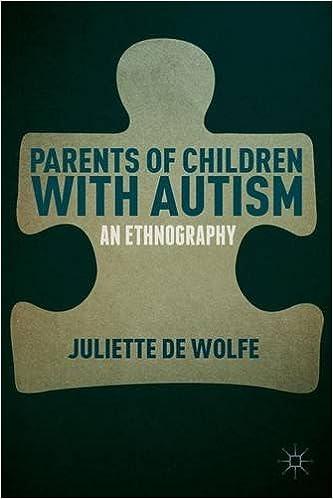 Online-Hörbücher zum kostenlosen Download Parents of Children with Autism: An Ethnography PDF DJVU 1137436220 by Juliette de Wolfe