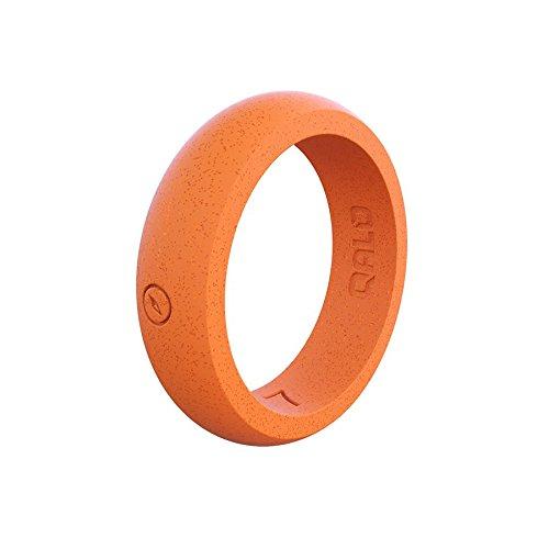 沸騰ブラドン QALO-レディースシリコンリング(品質は、陸上競技 Coral、愛とアウトドア)は7-18のサイズを B076SMPFLK Coral - Ring Silicone Silicone Ring 5 5|Coral - Silicone Ring, 下川町:604da327 --- arianechie.dominiotemporario.com