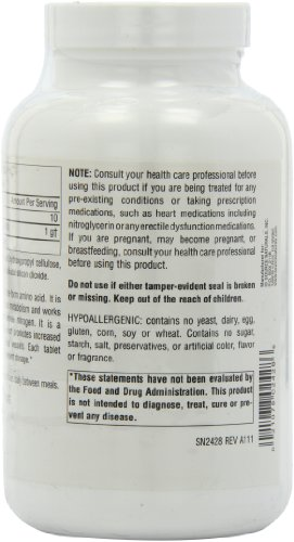 Source Naturals L-Arginine 1000mg Free-Form, Promotes Increased Circulation, 200 Tablets by Source Naturals (Image #5)