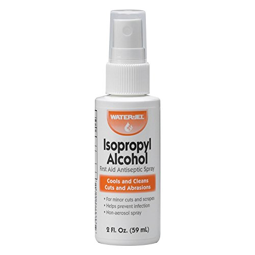 Isopropyl Alcohol First Aid Sprays Antiseptic Product 2 Ounce Spray Bottle 6 Each by Waterjel - MS60160