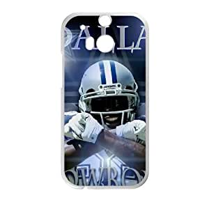 Dallas Cowboys HTC One M8 Cell Phone Case White persent zhm004_8455376