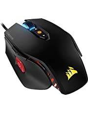 Corsair M65 PRO RGB Mouse Ottico da Gioco, RGB Retroilluminato, 12000 DPI, FPS, con Cavo, Nero