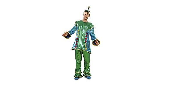 Disfraz Marciano extraterrestre para hombre t. M-L: Amazon.es ...