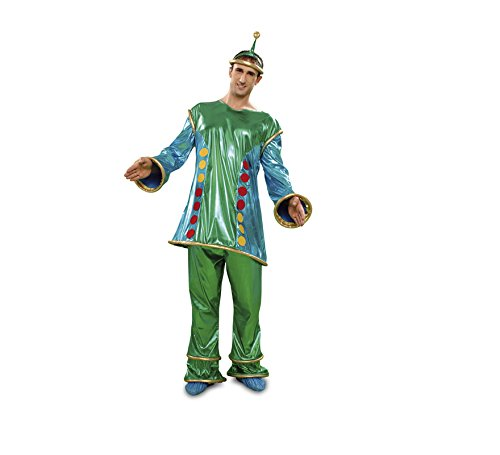 Disfraz Marciano extraterrestre para hombre t. M-L: Amazon ...