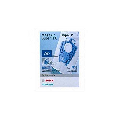 Bolsas microfibra (x4) MegaAir Type P aspirador Bosch ...