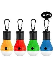 Camping Lampen LED, Campinglampe Camping Zubehör Leuchtmittel Lampe Zelt - Rucksack Licht -Dichtungsring - Wasserdicht - Camping Laternen für Fest,Draußen,Abenteuer,Wandern,Angeln,Notlicht