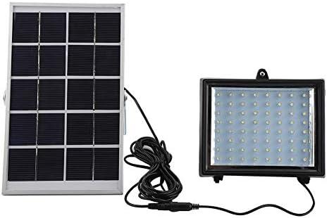 gototop lámpara solar 64 LED impermeable proyector solar exterior ...